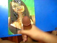 Große Brust Sperma Tribut