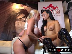 Hot Spanish Lesbians in PUBLIC Squirting