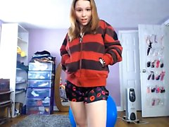 Teen Solo 18 Yıllık Web Kamera Pornosu