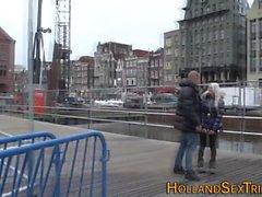 Néerlandais hooker lèche lezzie