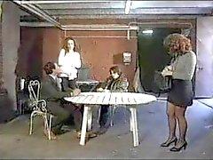 Simona Valli Italienisch Gefängnis Foursome