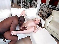 Kacy Lane VS biggest black cock