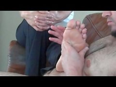 footjob for a fan pt2