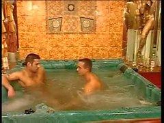 Hot Italian Sex in Hot Tub