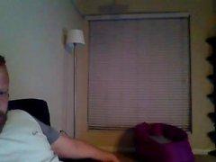 Sexy chica webcam en negro bragas