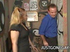 Billy Dewitt: Straight Guy Duped Para GloryHole