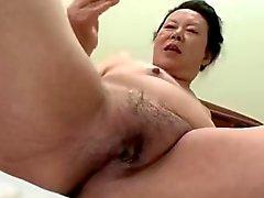 Du Japon Grosses Mamie de Shino moriyama de 66 -ans H - 0 930