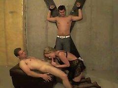 Дикая троица bdsm orgy