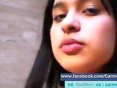 Carmen Analia Apani Kanpa follada por su marido Lucho Navarrete toda pos tr