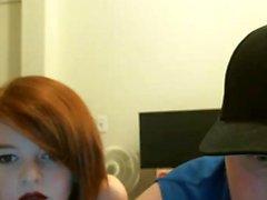 Programa de webcam adolescente dulce pelirroja