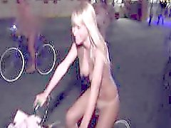 Sara Jean Underwood - Naked Bike Ride