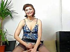 calcinha maduros handjob