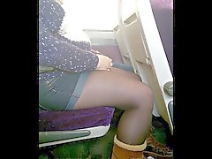 Short de et candides Collants de culotte ou des sur le train