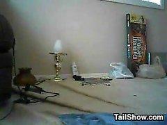 Slutty MILF, Son In Laws tarafından Doggystyle'ı vurdu