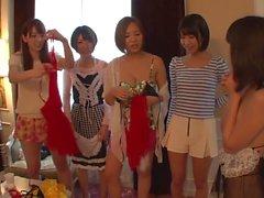 japanska flickor