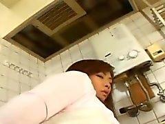 Asian facesitting