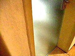 kylpyhuoneessa Voyeur