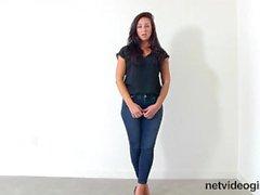 NetVideoGirls - NetVideoGirls - Audição do Calendário Annabel