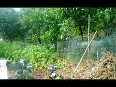 rak mogen flicka trädgård anal fisting dildo leksak fetisch 68