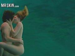 scènes nues sous-marines