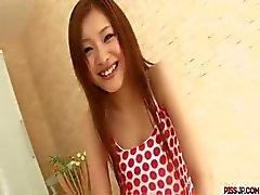 Super sexy clip met Suzuka Ishikawa pik stuiteren