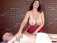 Busty milf cock treatment