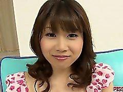Busty Babe Ririka Suzuki Gets Fingered To Orgasm
