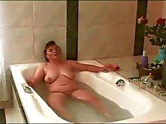 Duitsland BBW Masturberen In BathTub