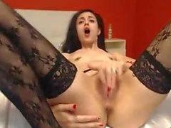 Cock Hungry Brunette fick vad hon ville ha