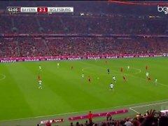 Robert Lewandowski (5-1) VfL Wolfsburg nüfuz
