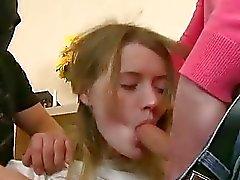 langbeiniges Mädchen