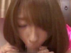 Handjob ile Shiori Kamisaki Cumming