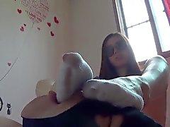 Корее Фут Богиня - Потных носок