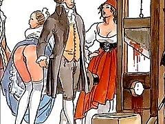 Os Boleros famosos eróticos de Manara e Ravel