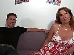 Franska Mogna Hardcore Casting