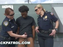 BLACK PATROL - Thug Runs From Cops, Gets Caught: My Dick Is Up, Don't Shoot