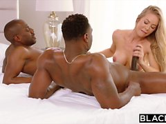 BLACKED Nicole Aniston Is Double Teamed By BBC