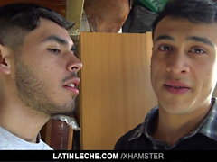 LatinLeche - Two Latinos Fucking Each Other For Cash