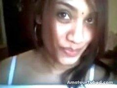 Horny intialainen tyttö