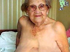 IloveGranny Vieja arruga de abuelas con el su coño