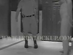 Security Cam of Group Prison Scenes: Urinal Piss & Shower