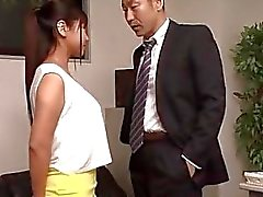 Ravishing cazzo presso l'ufficio insieme di Yu Shinohara