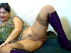Russian hairy webcam mom ( Pizda Volosataya ) 4