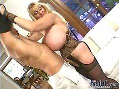 Kayla has huge boobs