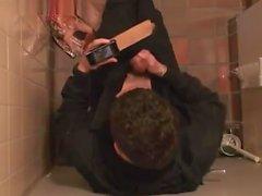 Str8 Spy мальчика в общественного туалета