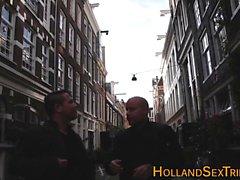 Inked jizzed hollandais Hooker