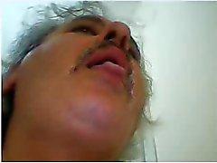 heiße türkische des Vatis Ficksahne vor der Cam
