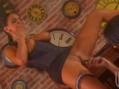 Tanya James and Tory Lane in lesbian foursome