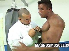 Douglas Máster - muscular del los compinches Gay Sexo