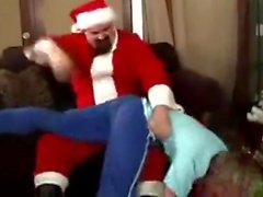 Santa Claus spanker